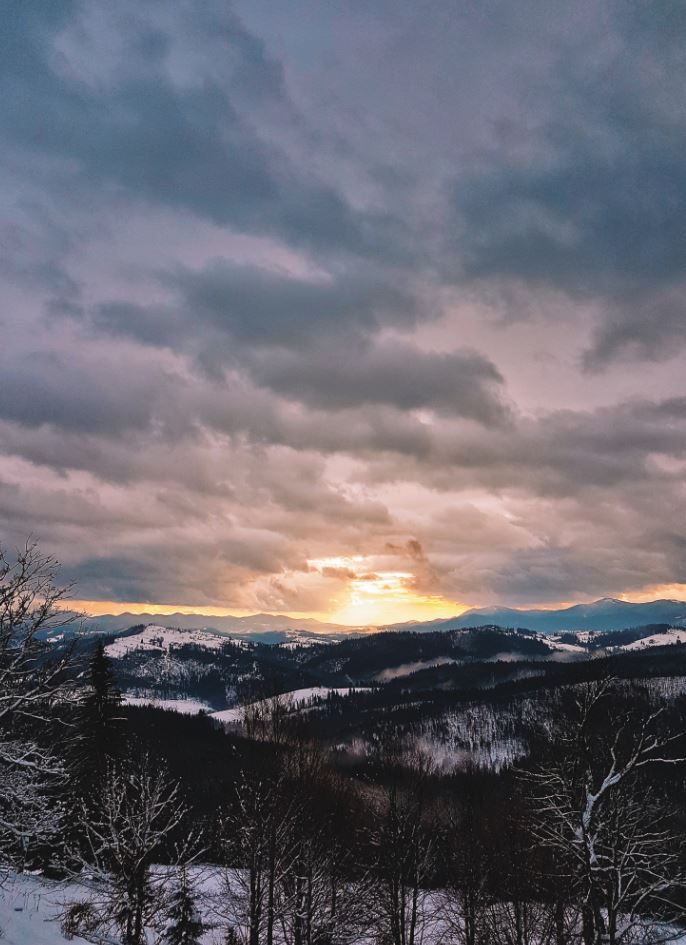 nature inspiration sunrise pexels snow during mountain inspire mountains covered photograph